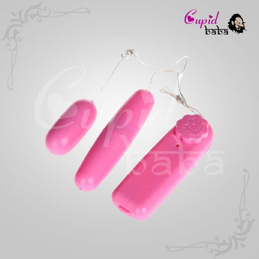 Remote Control Vibrating Double Egg Massager