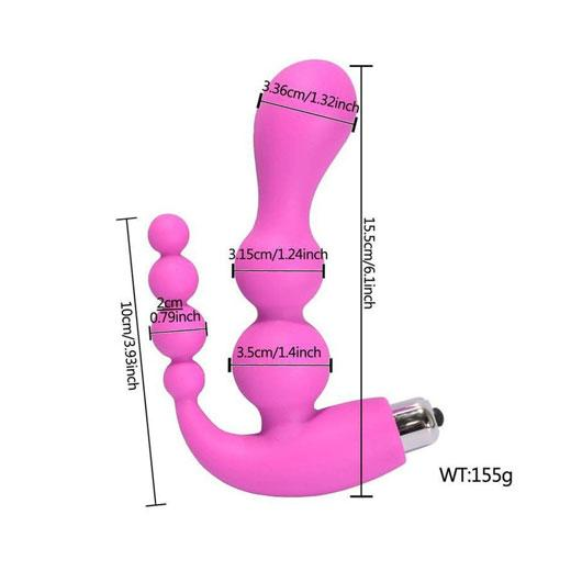 Pure Silicone Anal Sex Toy