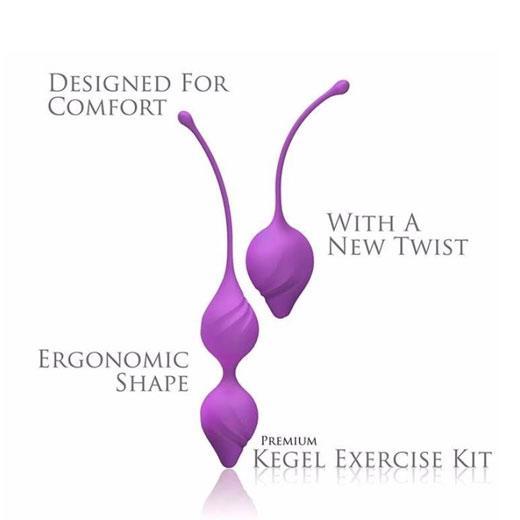 Kegel Set Exercise Silicone Balls For Women