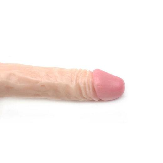 8.3 Inch Realistic Head Dildo Penis With Balls