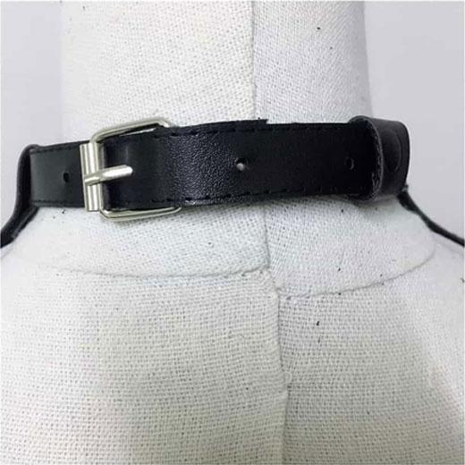 Harness Leather Bra and Chest Strap Belt