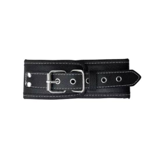 Black and White soft luxury Handcuff