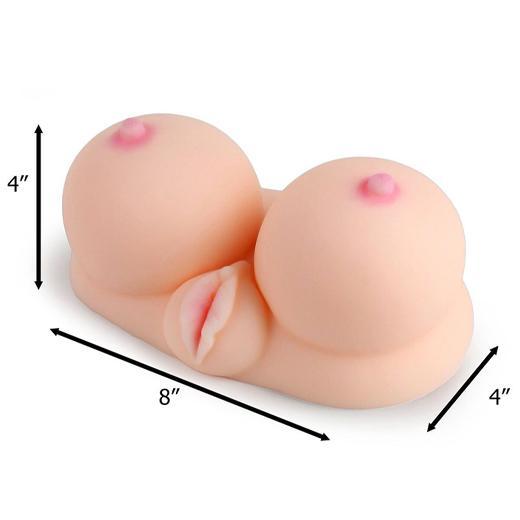 Breast & Vagina Masturbator for Men