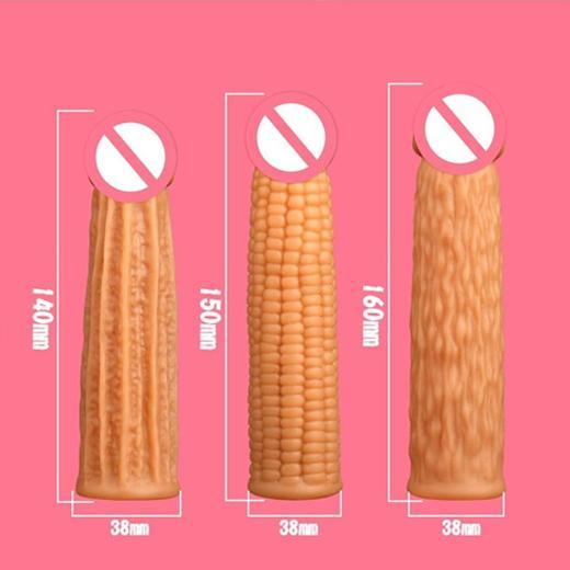 Corn Shape Men Penis Sleeve Toy