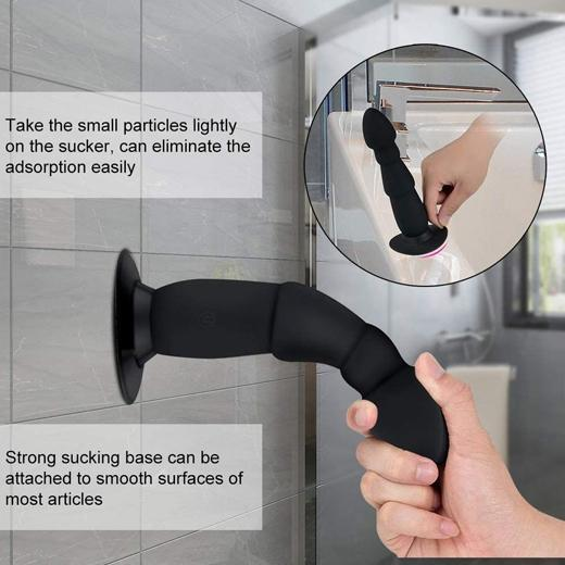 WIRELESS PROSTATE MASSAGER WITH STRONG SUCTION CUP