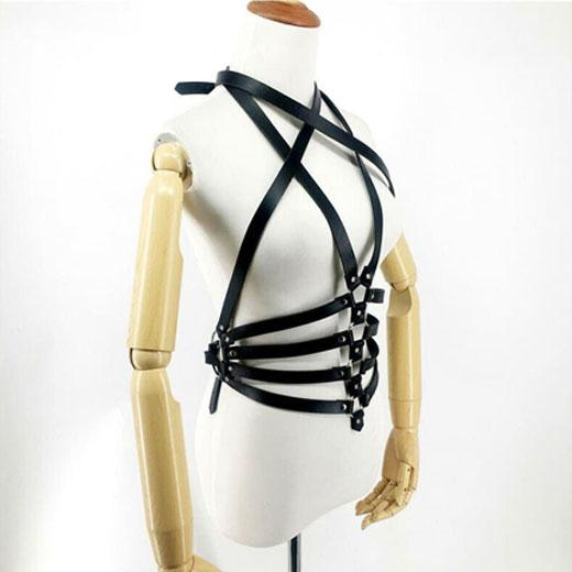 Sexy Dance Performance Bandage Strap Belt for Women