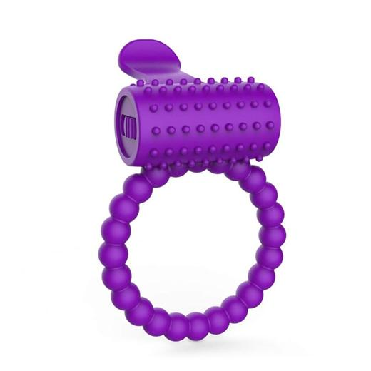 Naughty Play Erotic Vibrating Cock Ring For Men