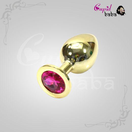Gold Stainless Steel butt plug