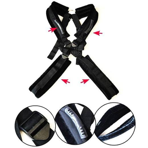 Body Harness Swing Stand Leg Lift Open Spreader Restraint Bondage