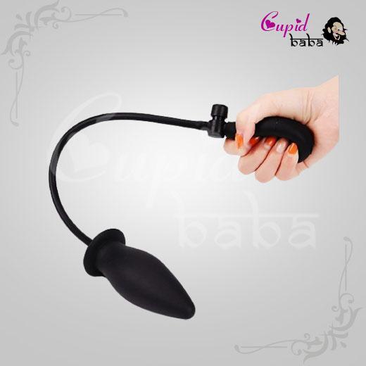 Inflatable Silicone Anal Plug