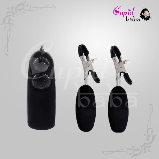 Nipple Vibrating Clamp Sex Toy Stimulator Vibrator