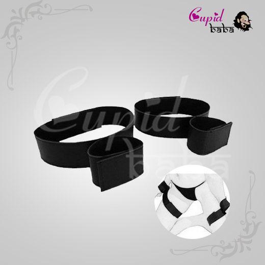 Nylon Bondage Handcuff Wrist & Ankle Cuffs Kit