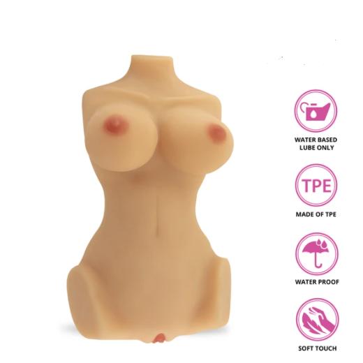 Real body 3D bone system sex Doll