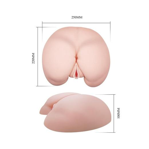 Realistic Masturbator Vagina & Ass Flesh