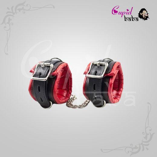 Red Handcuff Women Bondage