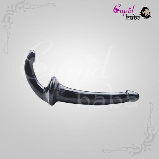 Realistic Double Ended Transparent Revolver Dildo Sex Toy