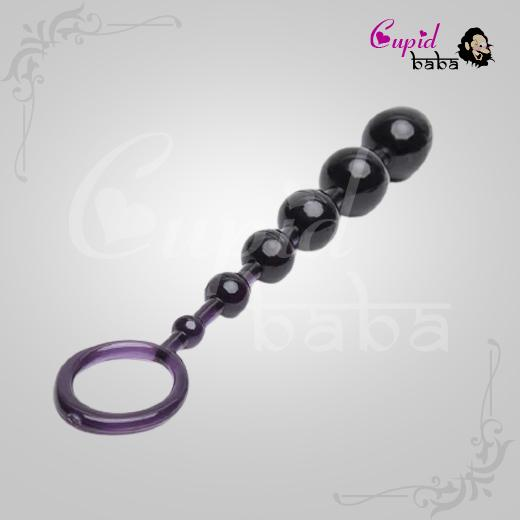 Reverse Anal Beads 6.5 Inch