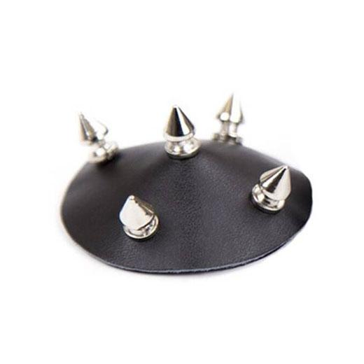 Sexy Cosplay Pasties Leather Nail Nipple Cover