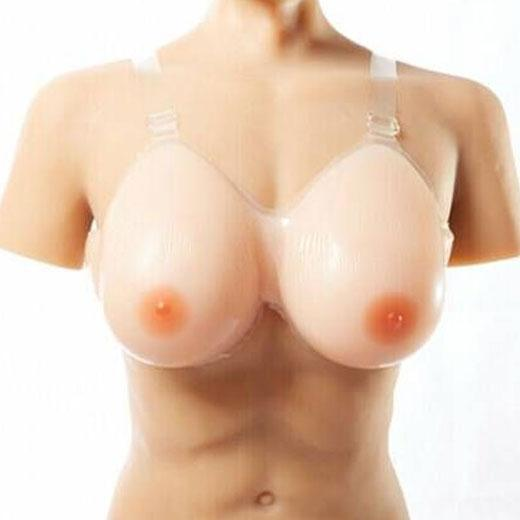 Silicone Fake Breast Forms Full Boobs