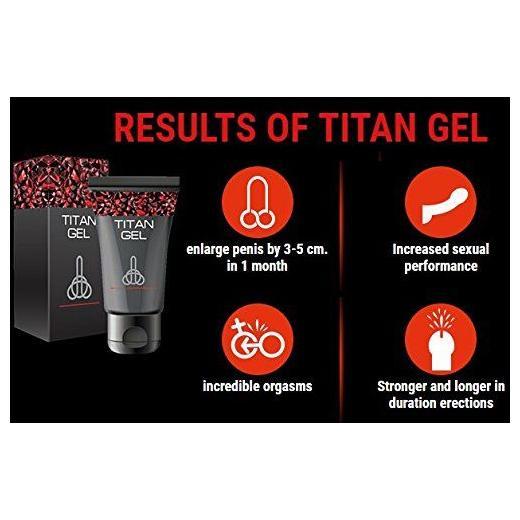 Titan Gel 50 ml for Men Penis