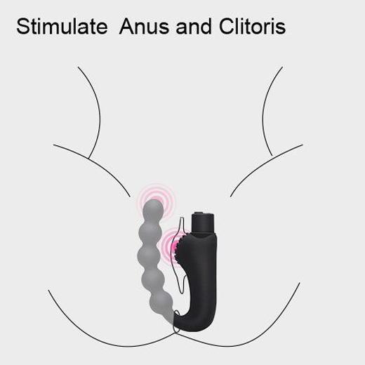 Vibrating Anal Beads Prostate Massager