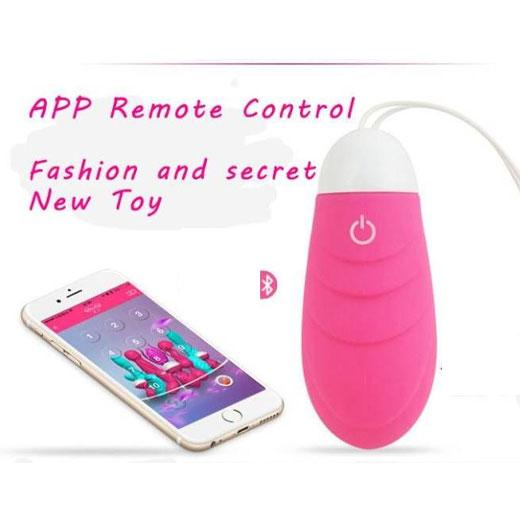 Wireless Jumping Egg Vibrator with Smart Phone Application