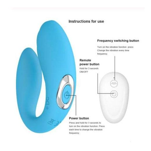 Wireless U Shape Vibrator for G Spot Clitoris