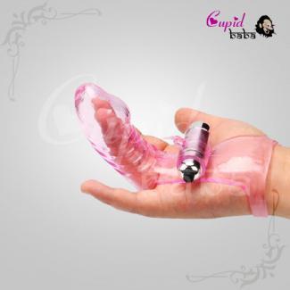 Finger Sleeve Vibrator - Female G Spot Masturbator Massager