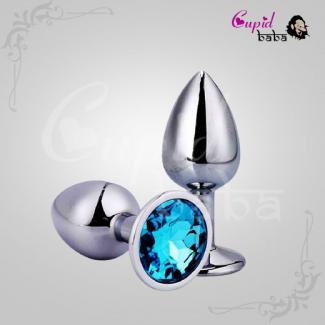 Anal Crystal Jewelry Steel Butt Plug