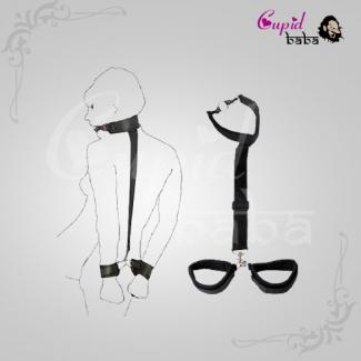 Collar Ring Mouth Gag & Handcuffs Restraints