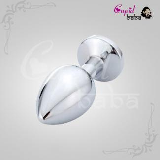 Large Stainless Metal Butt Plugs