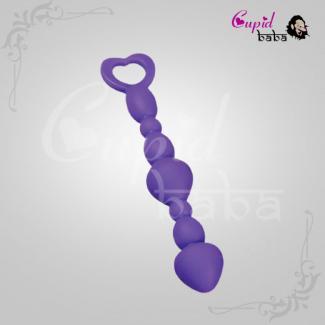 Silicone Long Anal Beads Plug