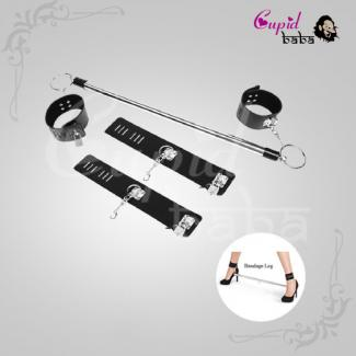 Stainless Steel Adjustable Handcuff Ankle Slave
