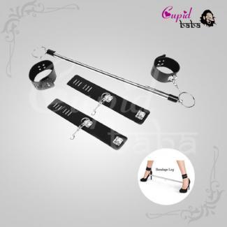 Stainless Steel Restraint Leg Spreader Bar Ankle Cuffs